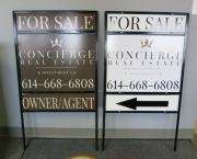 Concierge Real Estate Signs