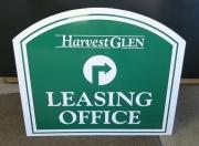 Harvest Glen Office Sign