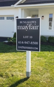 Mayfair Lot Sign