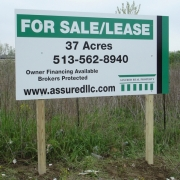 Standard Construction / Commercial Sign