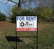 Rental Properties Signs