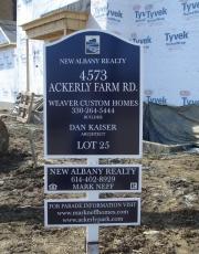 New Albany Homes Parade Signs