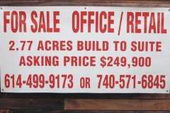 For Sale Office Banner