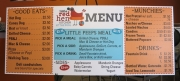 Red Hen Menu