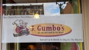 J Gumbo Window Display