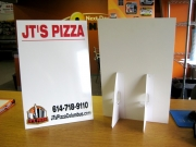JTs Pizza Dry Erase Stands