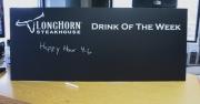 Longhorn chalkboard