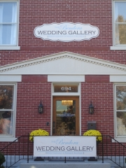 Wedding Gallery, routed 12 mil PVC, painted with cut lettering