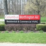Lit Lexan Sign Panels - Columbus Worthington Air