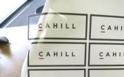 Cahill Clear Decals