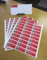 New Season Envelope Stickers