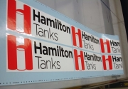 Hamilton Tanks Decals