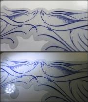 Reflective Dove