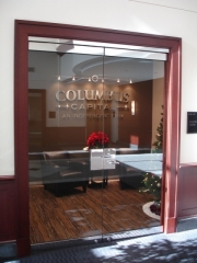Columbus Capital Lettering