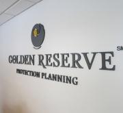 Golden Reserve Lettering