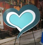 Heart Logo Cutout