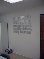 Great People Dimensional Lettering