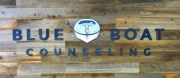 Blue Boat Counseling Dimensional Letters
