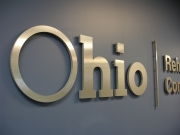 Dimensional Lettering Brushed Gold Ohio Rehabiliatation Services