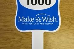 Make A Wish Auction Paddle