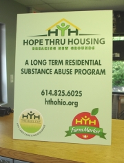 HTH Table Sign