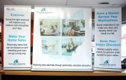 Injury Prevention Table Banners