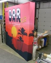 OAR 10x10 Wall with endcaps