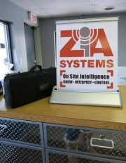Zia Table Banner Stand