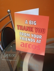 Arcos Large Thank You Card