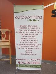 Outdoor Living Pop-Up Banner