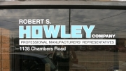Howley Window Lettering