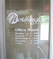 Worthington Foot & Ankle Hours
