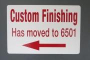 Custom Finishing