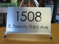 1508 Address Sign