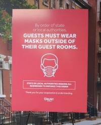 Drury Hotels Face Masks