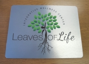 Leaves of Life Brushed Silver