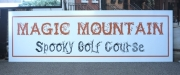 Magic Mountain Spooky Golf Course