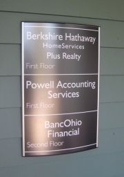 Directory Nameplate