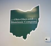 Ohio Glass Wallprint