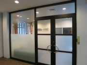 Privacy Frosted Glass