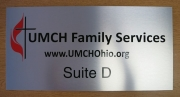 UMCH Silver Suite Sign