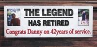 Danny Retires Banner