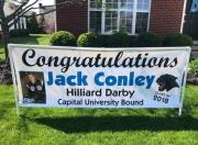Conley Grad Banner