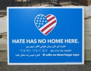No Hate Yard Sign