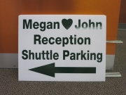 Reception Parking