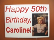Happy 50th Caroline