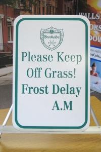 Please Keep Off Grass