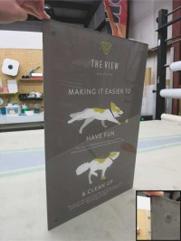 The View Pet Sign