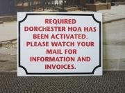 Dorchester HOA