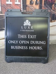 Luxe Open Exit
